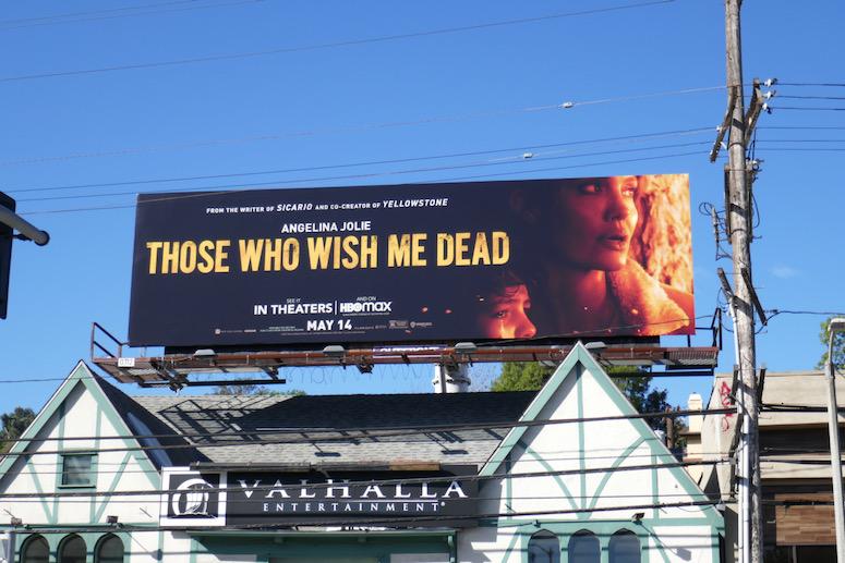 Those Who Wish Me Dead billboard