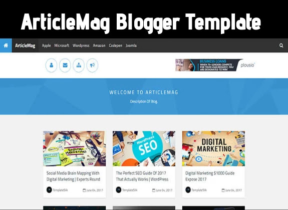 articlemag blogger template, responsive blogger template free download, best theme for blogger