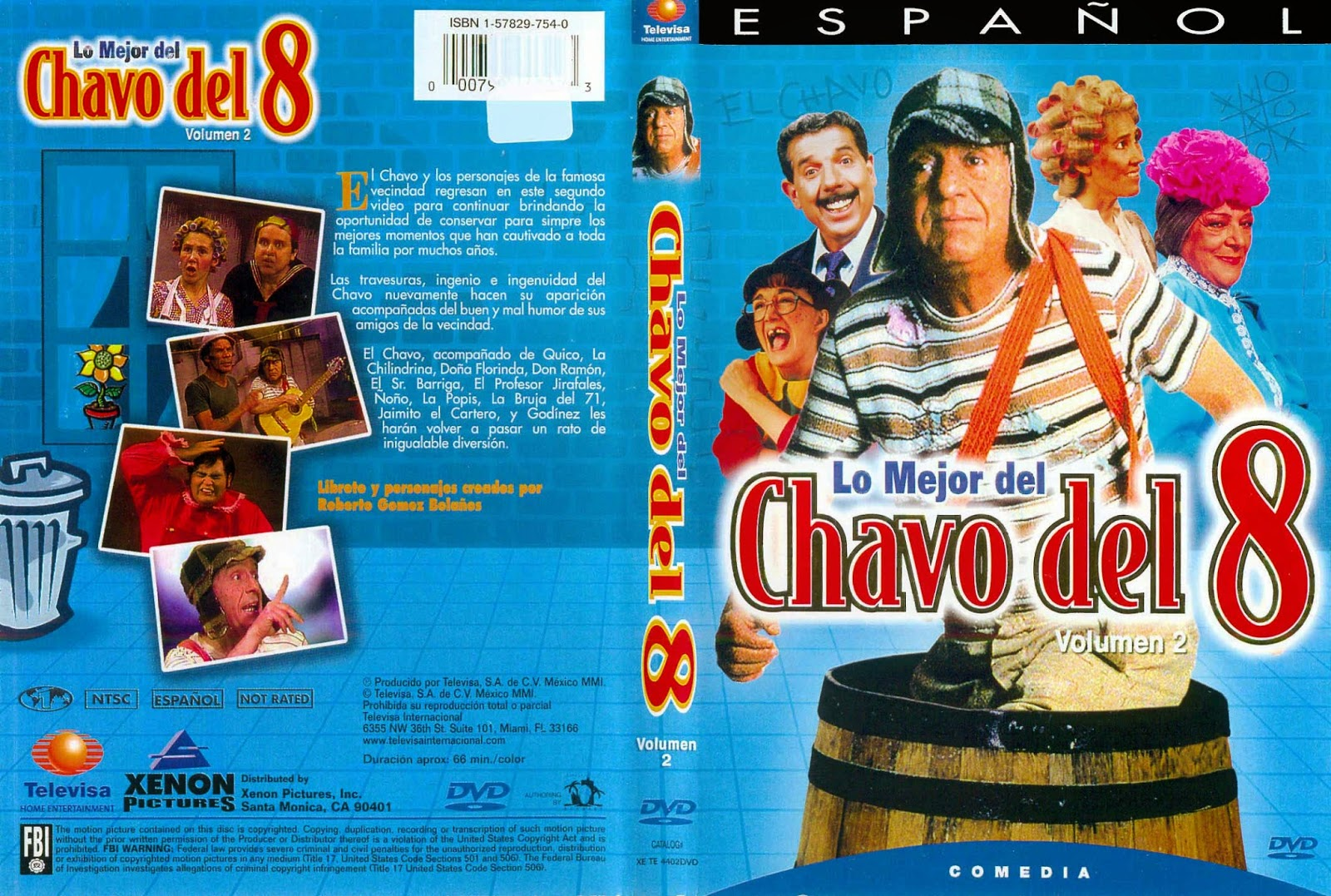 Baja-movies: CHESPIRITO