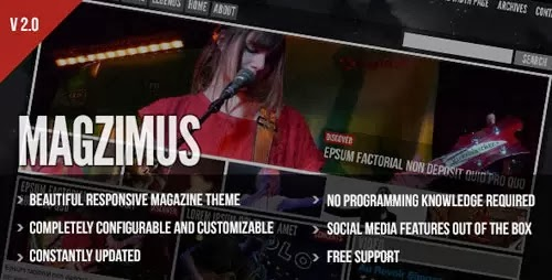 magzimus wordpress theme