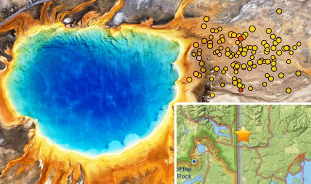 A 'Swarm' of 153 Earthquakes Hit the Region Around Yellowstone in July