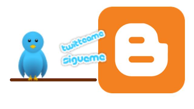 Pájaro de Twitter Para Blogger blogspot
