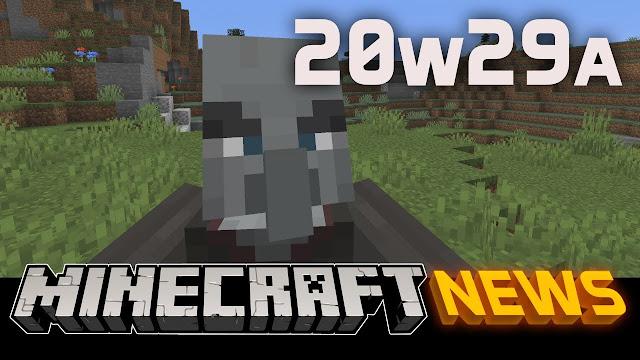 Minecraft Java Edition - Snapshot 20W29A