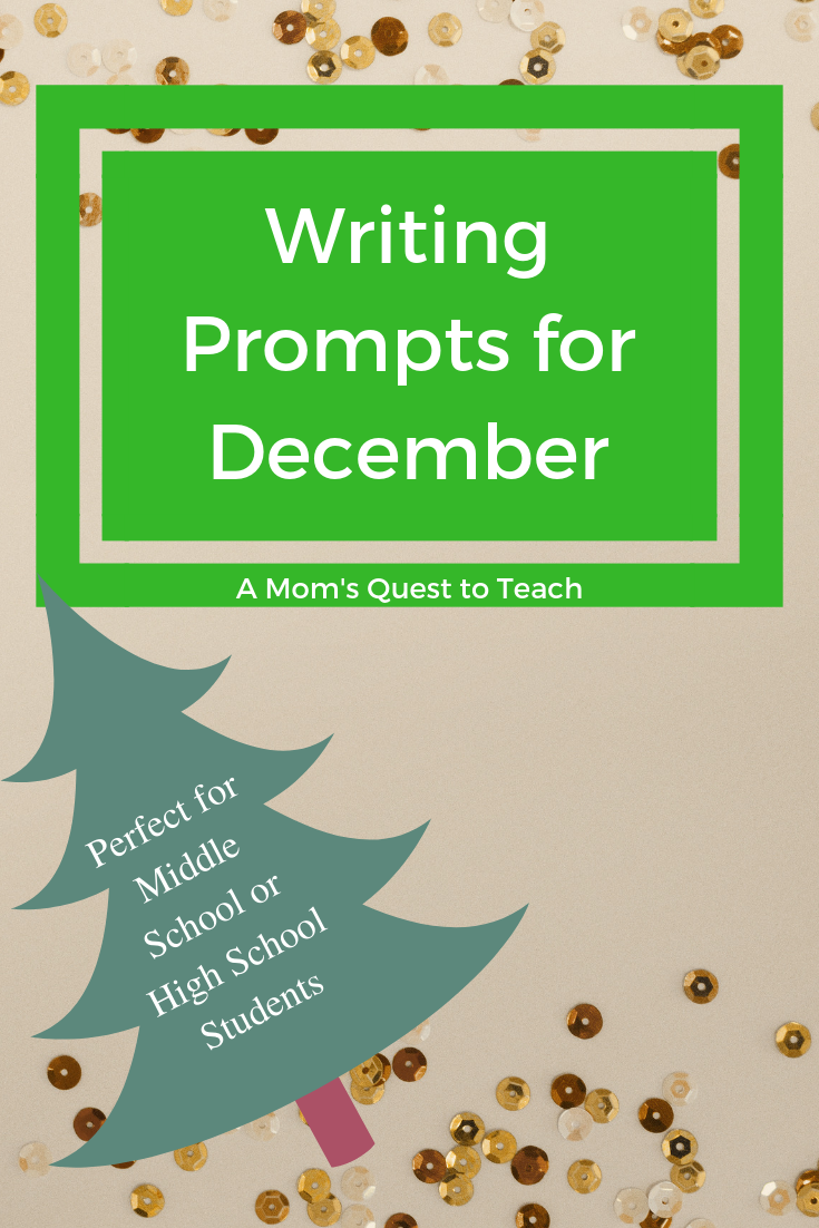 free writing prompts for high school
