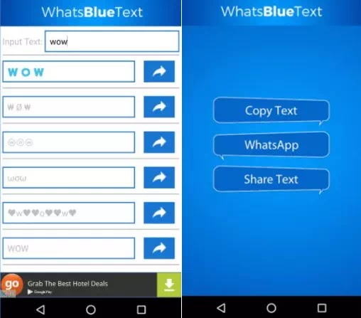 Cara Membuat Tulisan Berwarna di WhatsApp Chat dan Status-2