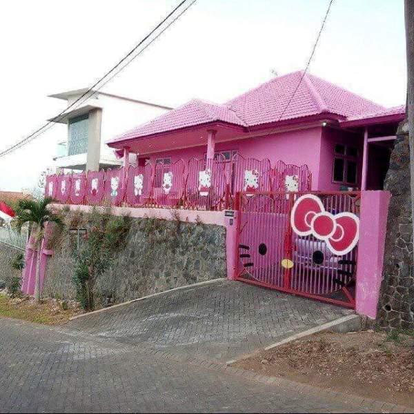 4600 Koleksi Gambar Rumah Minimalis Warna Pink Gratis Terbaru