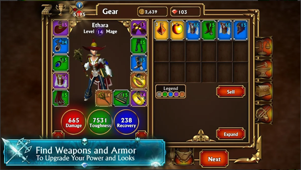 Game Aksi RPG Offline Android: Eternium Mage and Minions ...