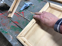 Attaching the short edges