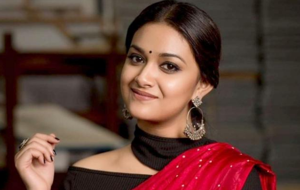 keerthy-suresh-is-the-female-lead-in-sarkari-sarkaru-vaari-paata