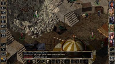 لعبة Baldur's Gate II مهكرة للأندرويد، لعبة Baldur's Gate II كاملة للأندرويد