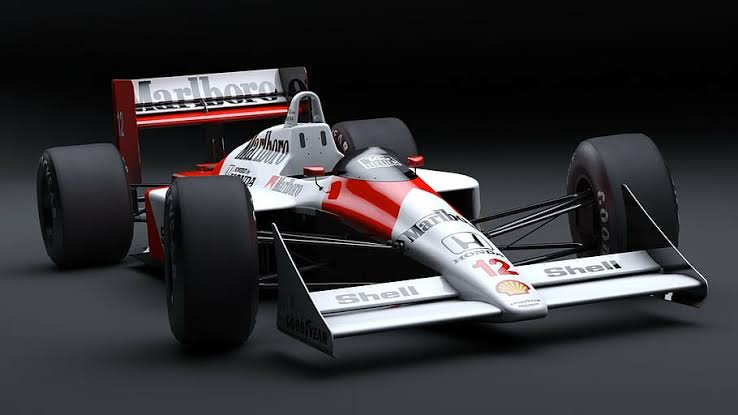 Front wings of a formula car autocurious