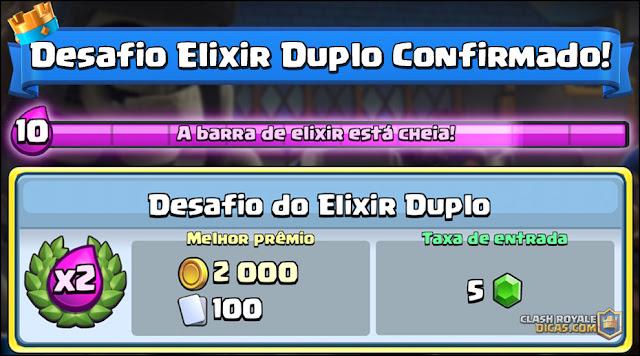 Desafio Elixir Duplo CONFIRMADO Oficialmente! - 1