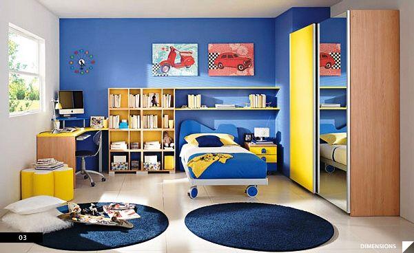 Foto Desain Kamar Tidur Anak Laki-Laki Mewah