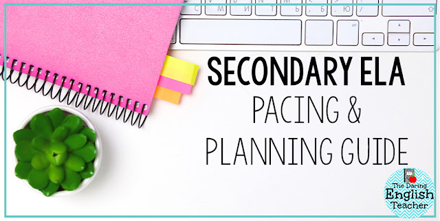 Secondary ELA Pacing Guide and Curriculum Map