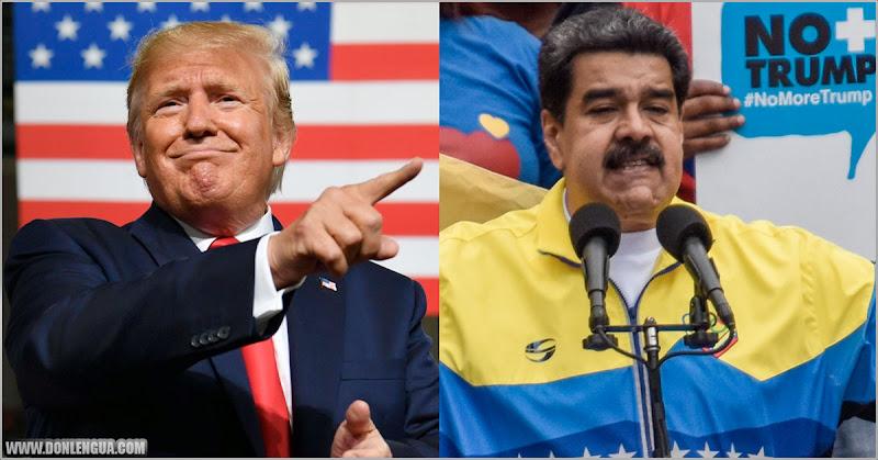 Trump asegura que tiene rodeado a Maduro a un nivel que no imagina