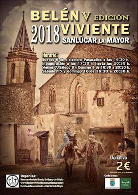 Sanlúcar la Mayor - Belén Viviente 2018