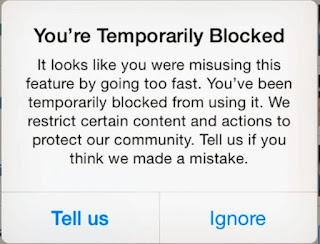 Cara Mengatasi Tindakan Diblokir di Instagram
