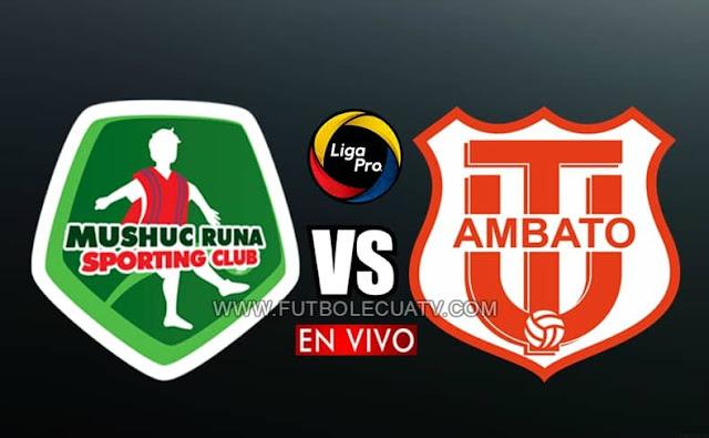 Mushuc Runa recibe al Técnico Universitario en vivo desde las 13h15 hora local, prosiguiendo la jornada cuatro de la liga pro, siendo transmitido por GolTV Ecuador a efectuarse en el reducto Coop. Ahorro y Crédito. Con arbitraje principal de Henri Arízaga.