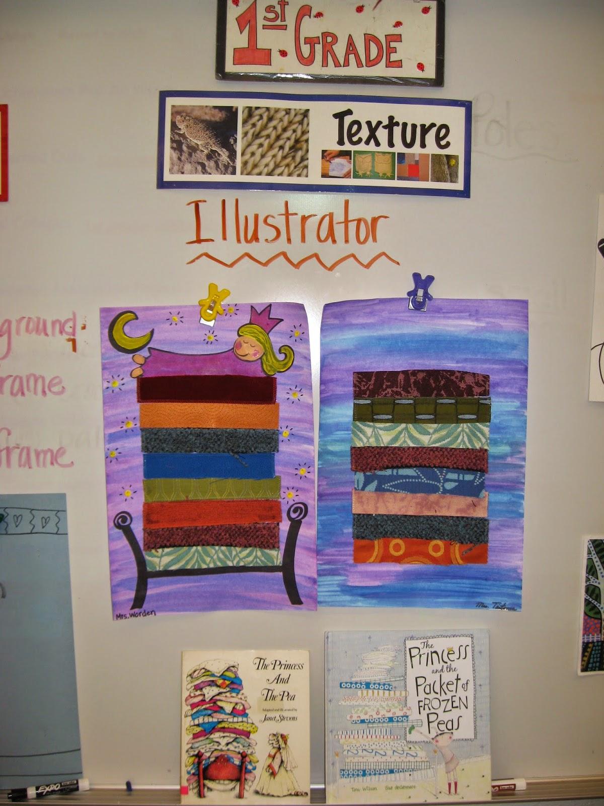 Jamestown Elementary Art Blog 1st Grade Princess And The Pea