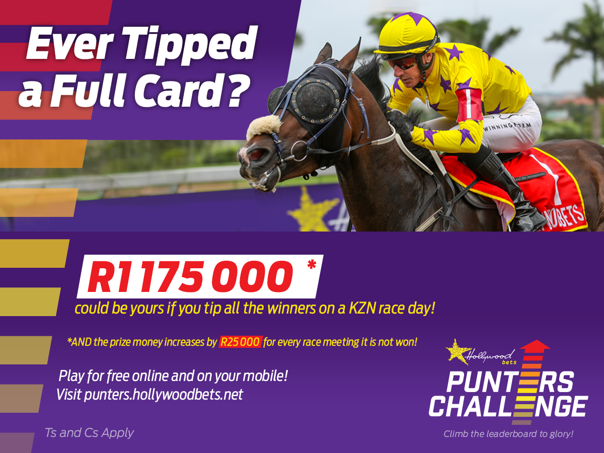 Winning Form Punters' Challenge Tips: Hollywoodbets Scottsville - 31 January 2021