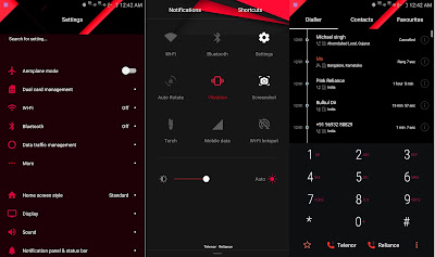 Red Material | EMUI THEME For 4.0/4.1