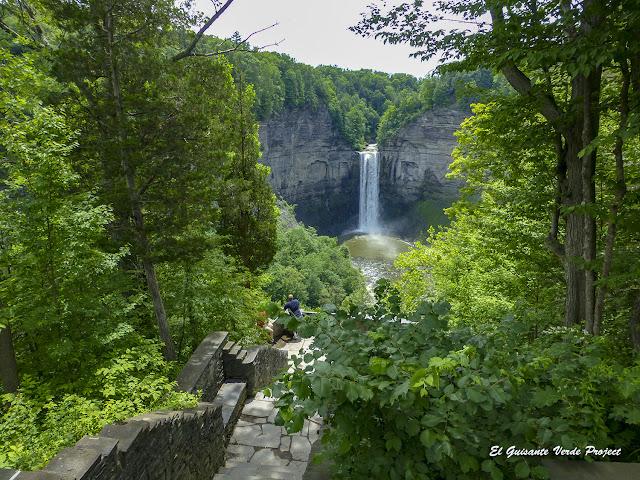 Taughannock Falls, NY por El Guisante Verde Project