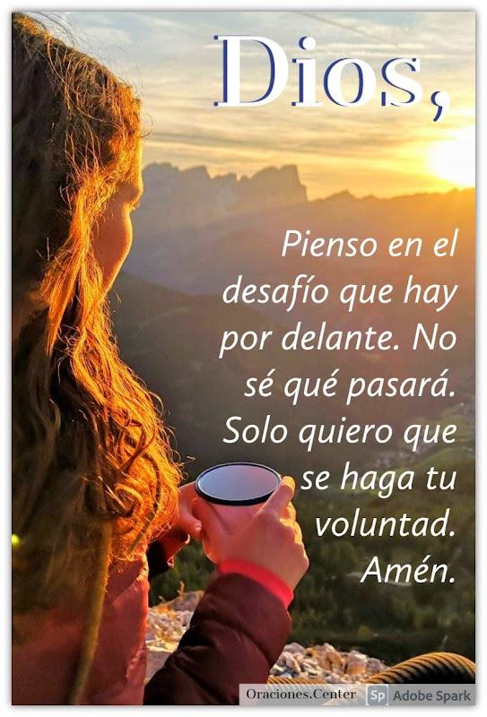 Oración - Señor en Ti Confío que se Haga tu Voluntad