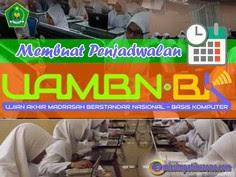 Cara Membuat Penjadwalan Madrasah di Web UAMBN-BK