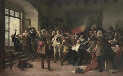 Václav BROŽÍK, 1890, La Defénestration, 1618
