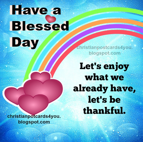 bless nice day image free card