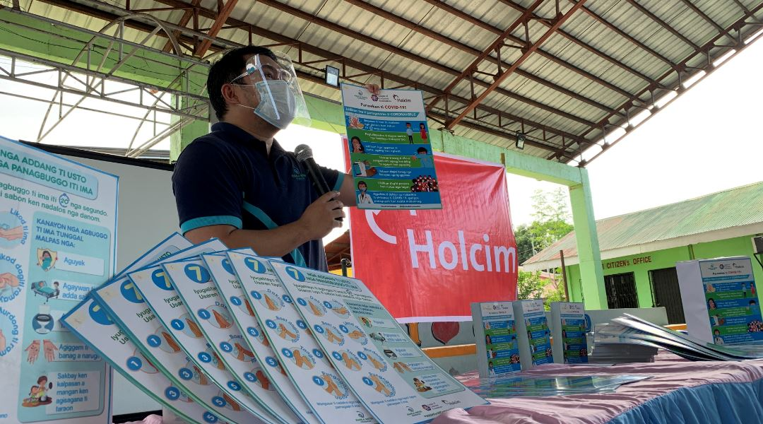 Holcim sustains HELPS campaign amid pandemic
