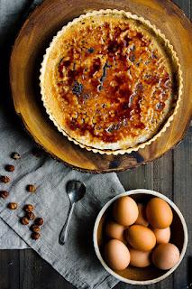 Cách làm tarte creme brulee béo mịn đơn giản