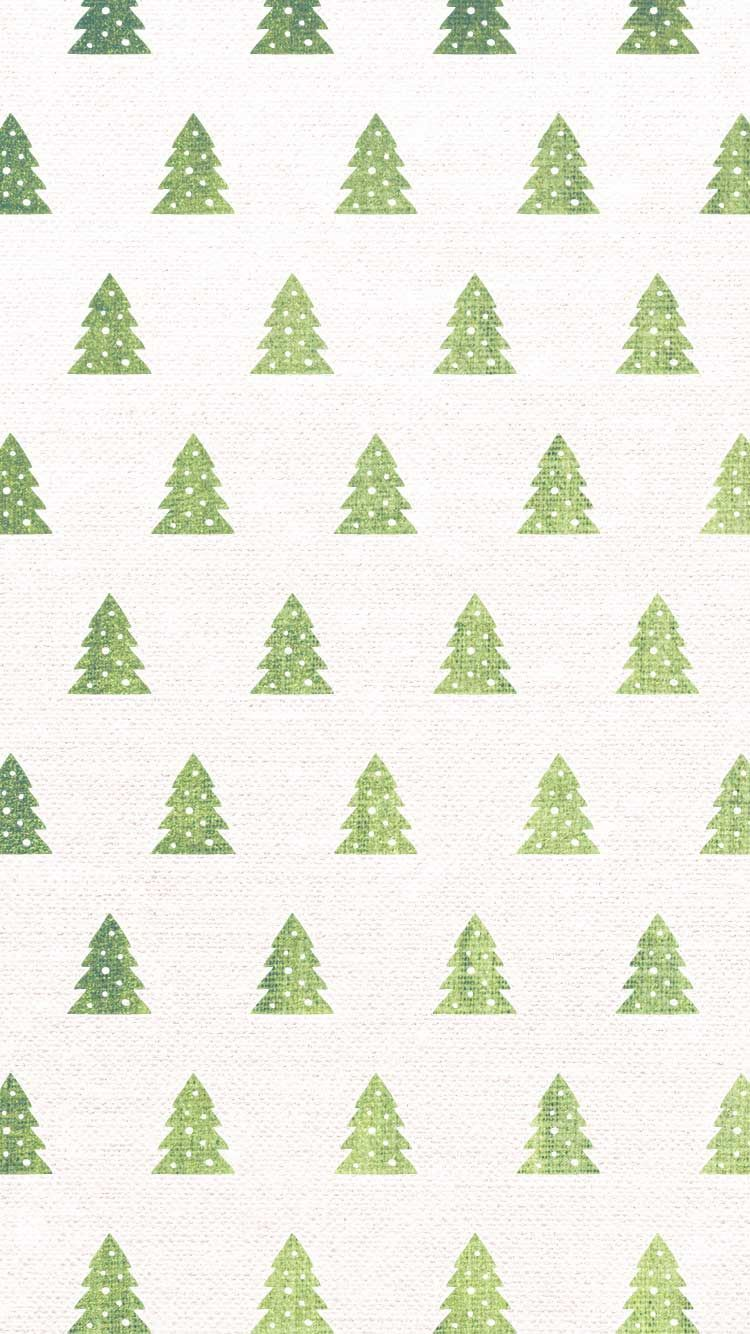 Christmas Pattern HD Wallpaper for iPhone