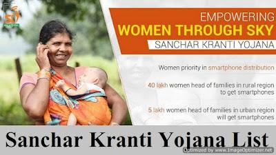 Sanchar-Kranti-Yojana-List