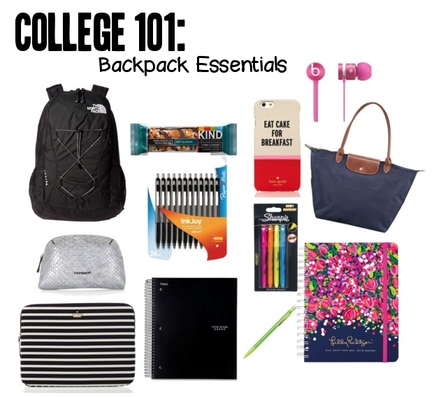 f684dfba0a08 The next part of my College 101 series is my backpack essentials!  Enfiniti  from A Touch of Enfiniti did a guest post on my blog for back to school ...