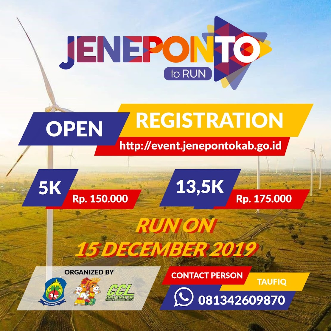 Jeneponto Run • 2019