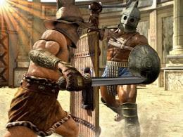 Pertarungan sengit antar Gladiator