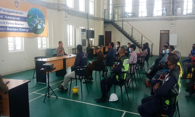 Tingkatkan Sinergitas, Ditpamobvit Polda Banten Lakukan Sosialisasi Jasa Pengamanan