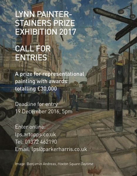 Lynn Painter-Stainers 2017 Call for Entries