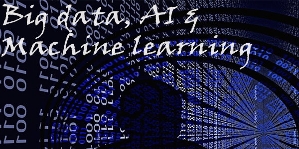 Big data, AI & Machine learning Image