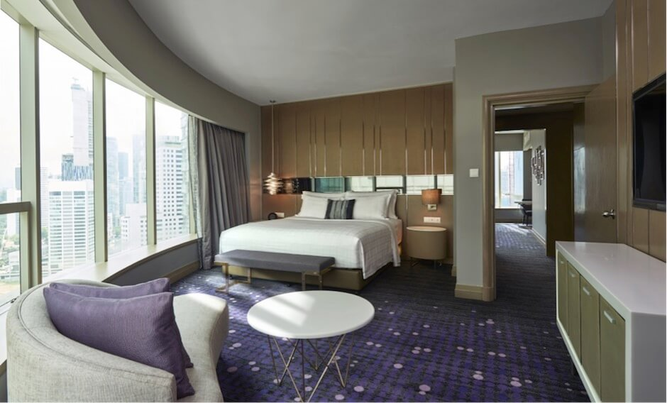 Pullman kuala lumpur city centre hotel residence for Uniform spa malaysia