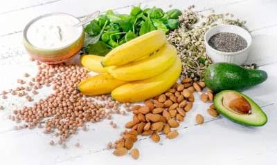 اطعمة غنية بالمغنسيوم