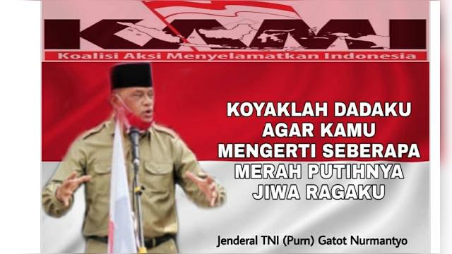 Curhatan Jenderal Gatot Usai Diusir Polisi di Surabaya: Koyaklah Dadaku...