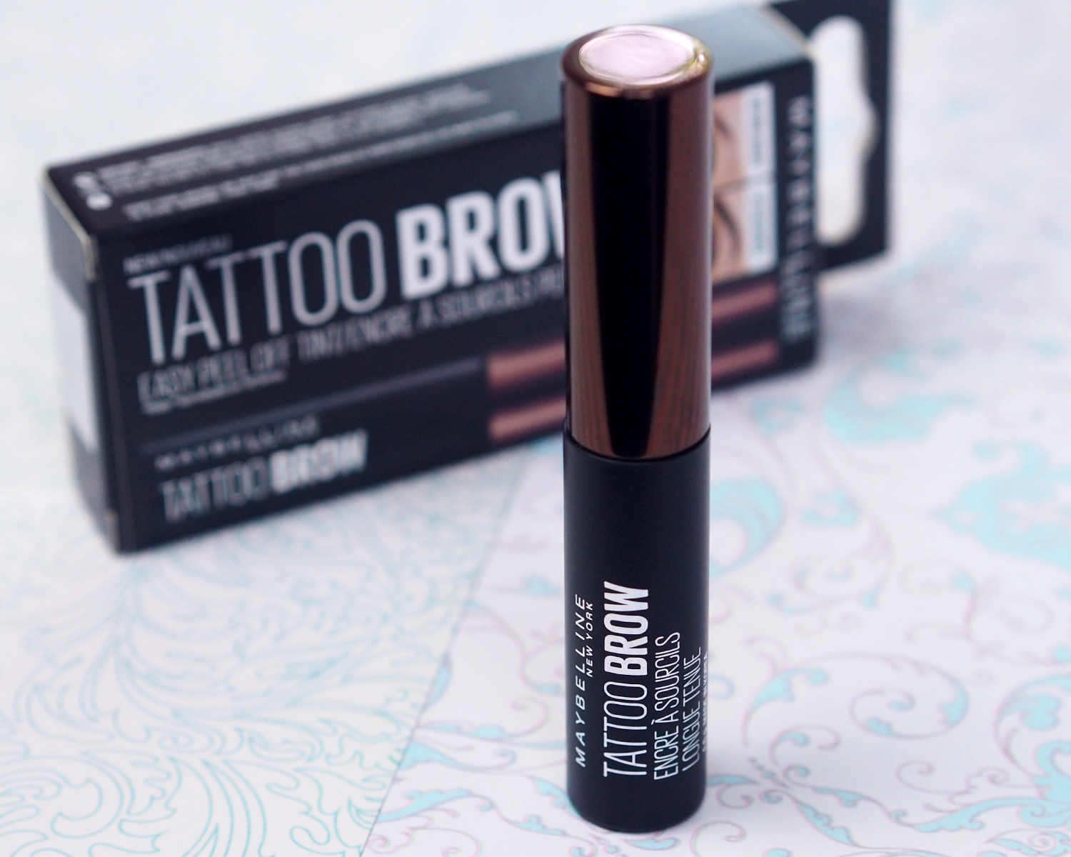 Maybelline Tattoo Brow Tint First Impressions