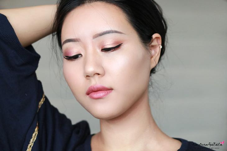 Natasha Denona Purple-Blue Eyeshadow Palette 28 Review, Swatches & MOTD: MAC Cosmo Lipstick