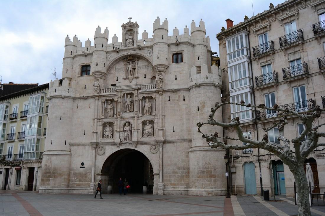 Arc de Santa Maria Burgos