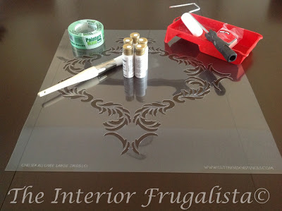 DIY Wall Stencil Supplies