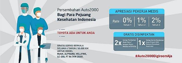 Promo Paket Medis Toyota Yasmin Bogor Kredit Tanpa Bunga