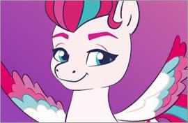 MLP Zipp Storm Ponies