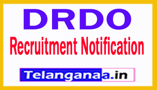 DRDO Recruitment Notification 2018